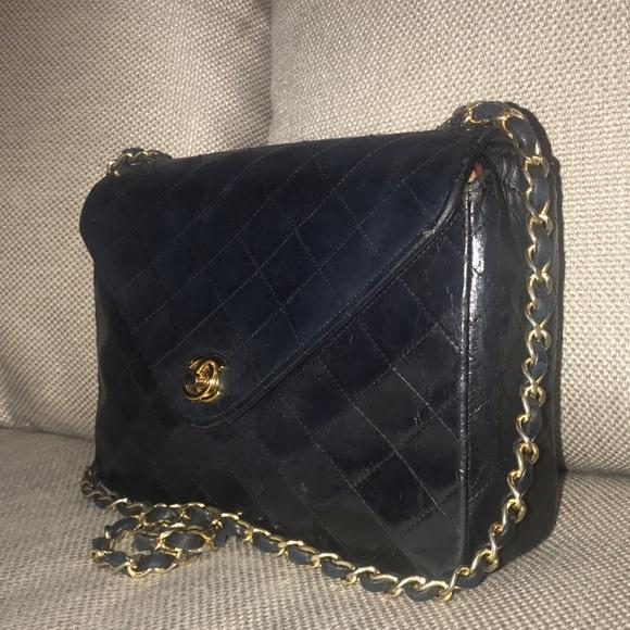 948c3d1c1e24 CHANEL Handbags - Authentic Chanel Lambskin Matelasse Flap Quilted